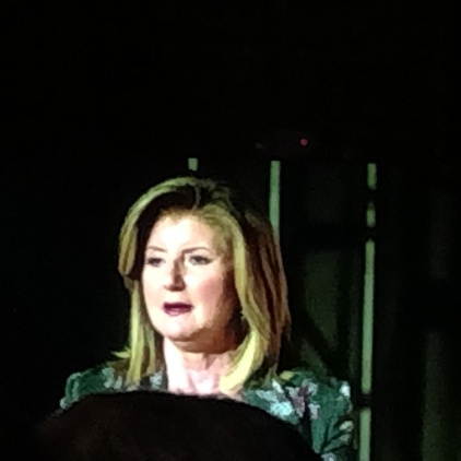 Arianna Huffington on having some me time