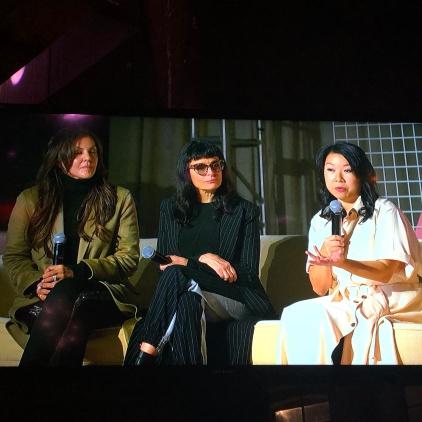 Lavinia Errico, Norma Kamali, Shan-Lyn Ma
